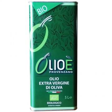 Olio biologico extravergine di oliva 5lt- OlioE' Provenzano -