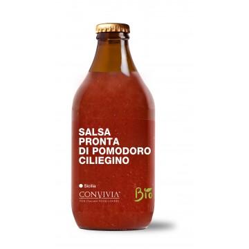 Organic Ready-made cherry tomato sauce 330g