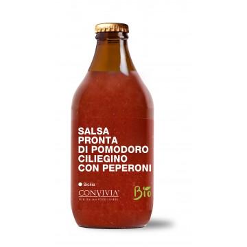 Salsa pronta con peperoni Bio