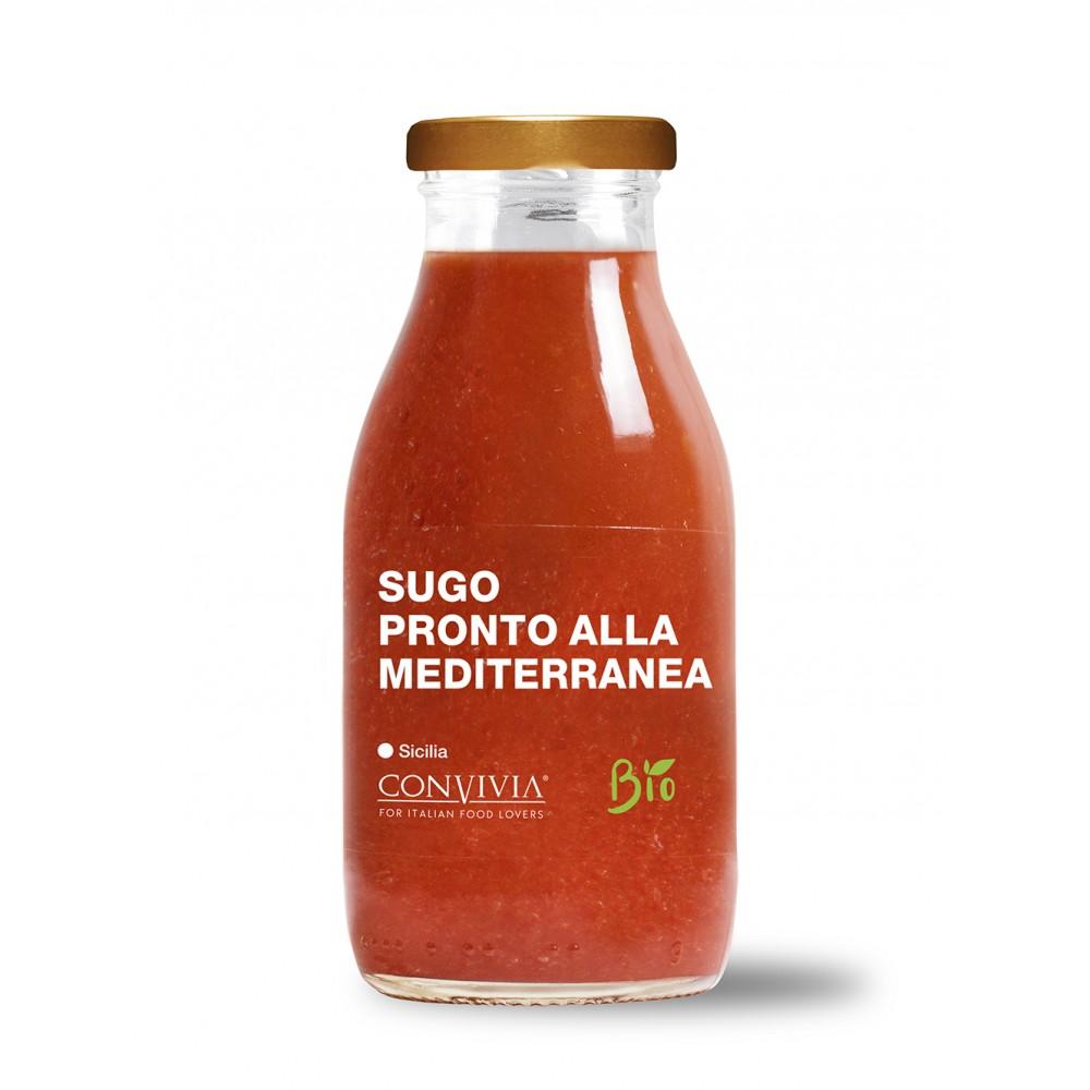 Sugo pronto alla mediterranea Bio