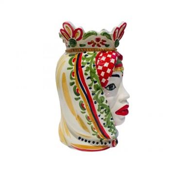 Testa di Moro in Caltagirone ceramic h25 -