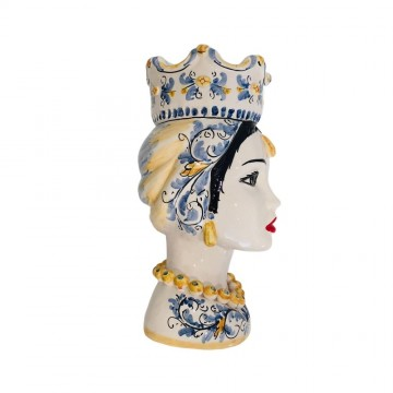 Moor's head woman right profile