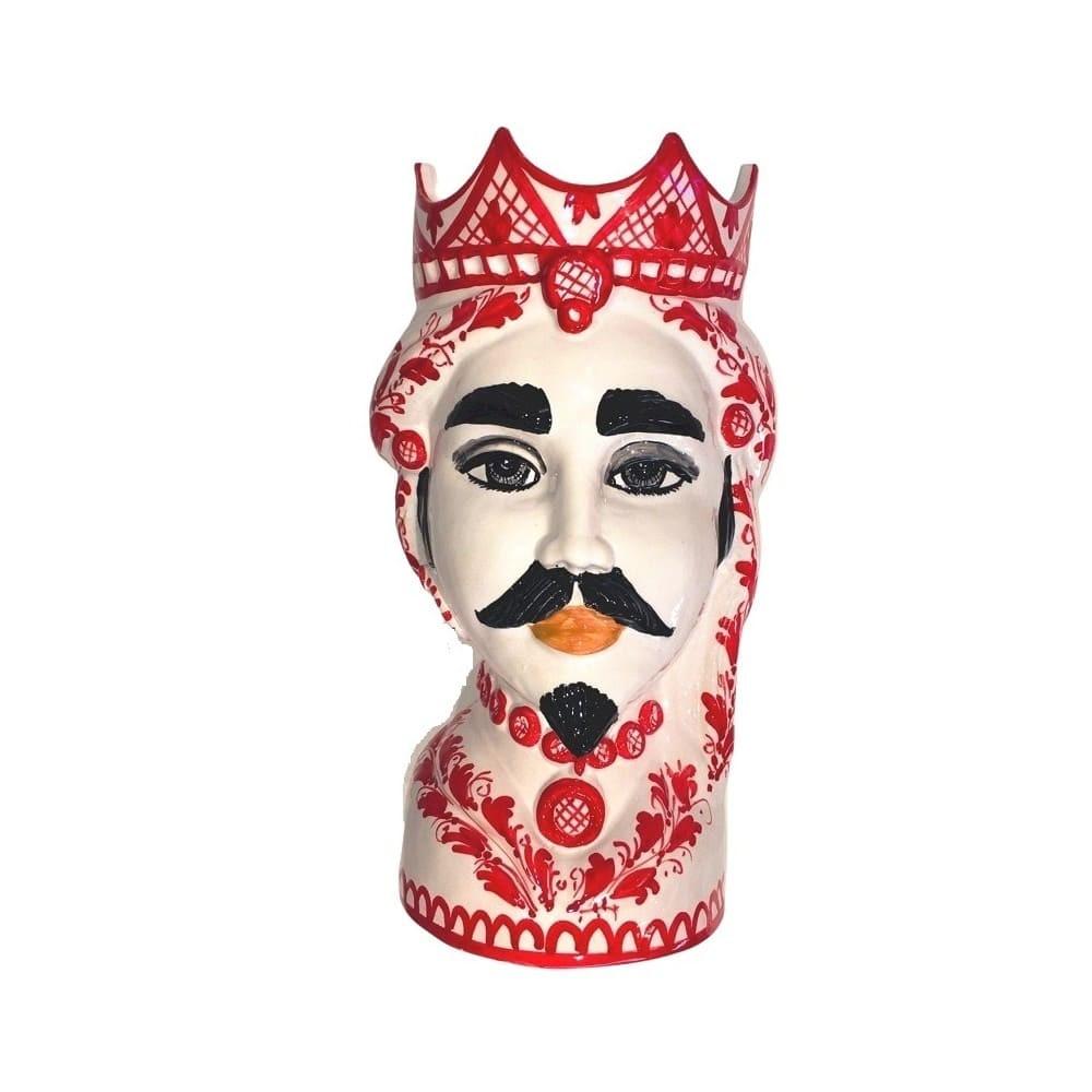 Moor's head red
