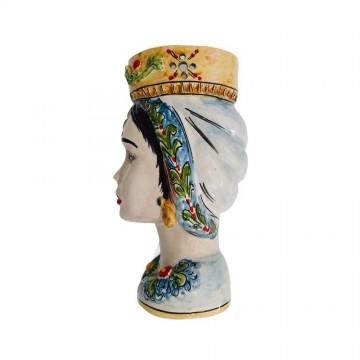 Moor's head woman left profile