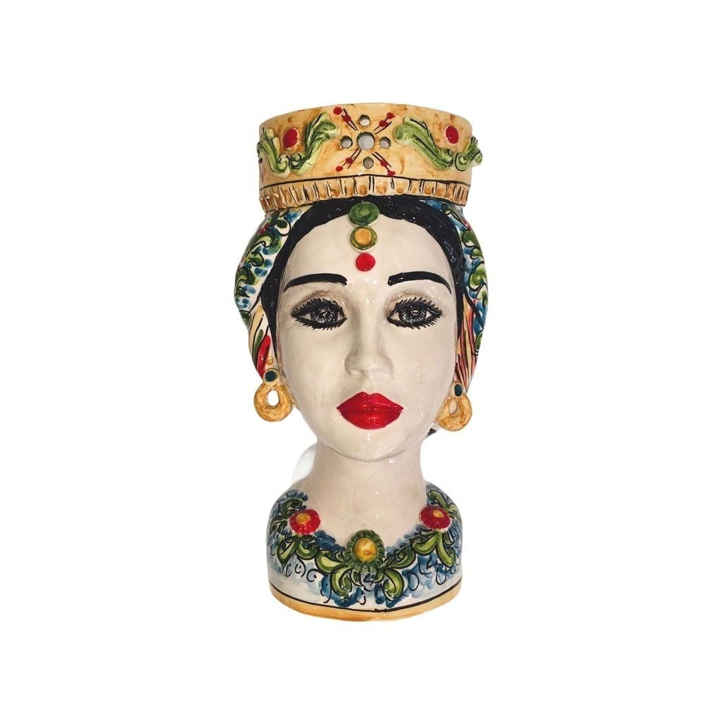 Frontal woman Moor's head
