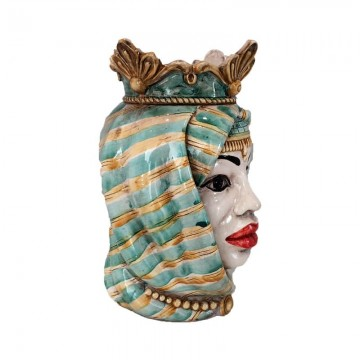 Sicilian Woman Moor's Head right profile