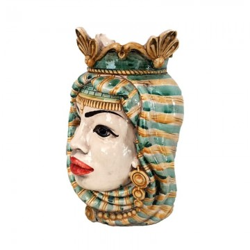 Sicilian Woman Moor's Head left profile