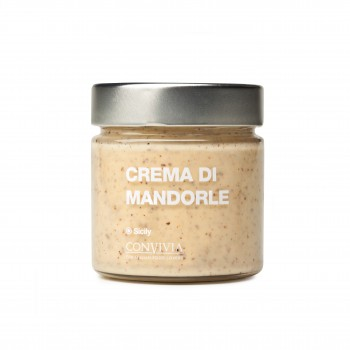 Crema dolce di mandorle 210g-