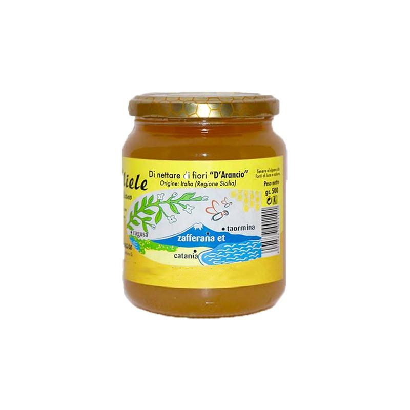 Miele fior d'arancio 250g-