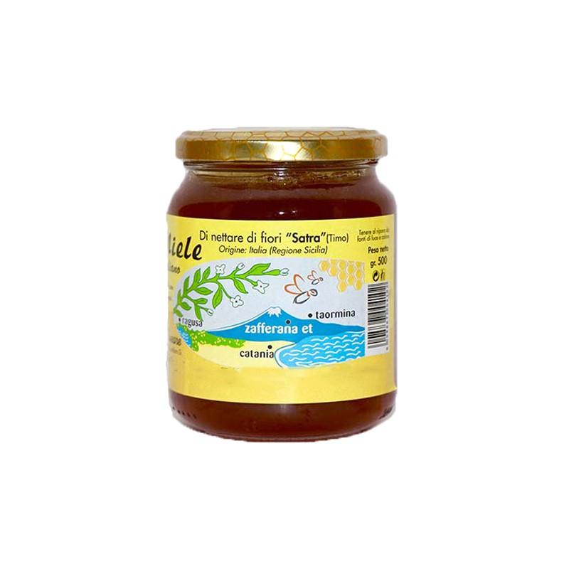 Satra flowers honey 250g-