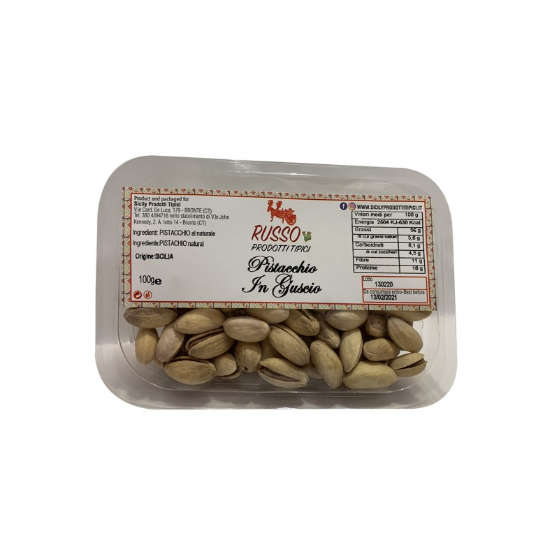 Whole pistachio with shell 100g-