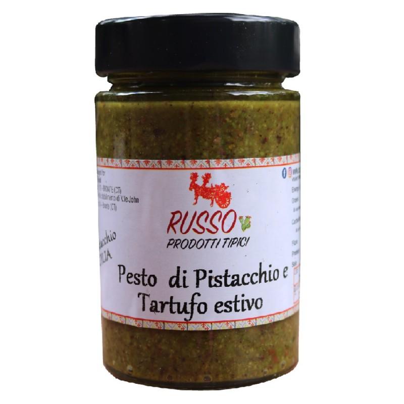 Pesto di Pistacchio e Tartufo Estivo 190g-