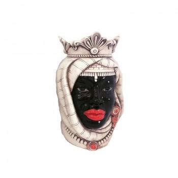 African Woman Moor's Head
