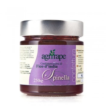 Extra prickly pear jam 280g-