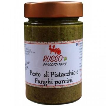 Pesto di Pistacchio e Funghi Porcini 190g -
