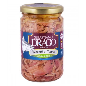 Pieces of tuna in olive oil 300g -